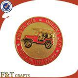 Монетка возможности металла Rhinestone логоса низкой цены выполненная на заказ (FTCN9091J)