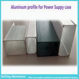 Aluminium/Aluminium Profile Extrusion avec Anodizing Shot Blasting pour le bloc d'alimentation