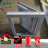 안전 UPVC 홈을%s 플라스틱 프랑스 여닫이 창 유리창 디자인