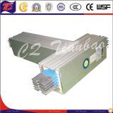 Busduct de alumínio com isolação azul de Expoxy do revestimento do e com carcaça de aço