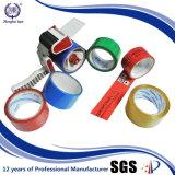 Cinta impresa del embalaje de la insignia del diseño 48m m X 500meters BOPP de la compañía