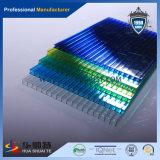 Het Uitstekende Plastic PC In reliëf gemaakte (blauwe) Blad van Nice