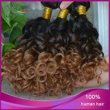 Extensão indiana por atacado do cabelo Curly de Jerry do cabelo do cabelo humano