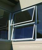 Ventana de aluminio de cristal doble termal rota aislada calor de los perfiles