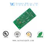 Carte multicouche de carte à circuit imprimé de télévision en circuit fermé de garantie avec le masque vert de soudure