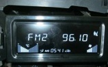 Pantalla blanca trasera del LCD del alto contraste del coche de la letra