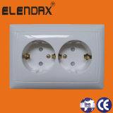 Enige ElektroContactdoos met het Aanaarden van Speld (F6610)