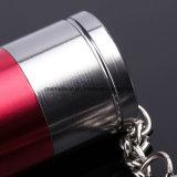 李イオン電池が付いている携帯用キーホルダーの懐中電燈