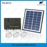 Kit solar de los bulbos del panel solar 3PCS 1W SMD LED de la Potencia-Solución 4W de China