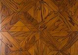 Étage de parquet multicouche avancé d'art en bois solide