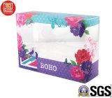 紫外線オフセット印刷PVCプラスチック包装ボックス、プラスチックキャンデーボックス