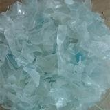 Fregado de las botellas del animal doméstico y línea plásticos del reciclaje