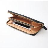Кожа высокого качества Split с кожаный бумажником для женщин