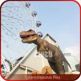 주라기 공원 높은 시뮬레이션 실물 크기 공룡