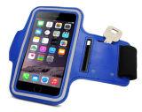 Sac imperméable à l'eau extérieur de bras de sports de PVC pour le téléphone