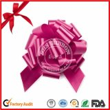 Purpurrotes POM-POM Pull Bow für Birthday Gift Packaging