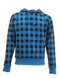 Mens arbeiten Allover Drucken gestricktes Sweatershirt um
