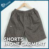 Inone 071 Mens nada Shorts ocasionais da placa das calças curtas