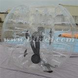 TPU transparente 1.0m bola bola de la burbuja Dia humano para Football D5022