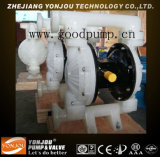 Doppia pompa a diaframma pneumatica in materiale dell'acciaio inossidabile (QBY)