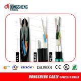 Câble optique autosuffisant aérien de fibre