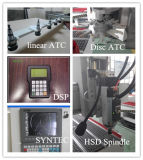 9kw Houten CNC van de Wisselaar van het Hulpmiddel van de ServoMotor van de As van Italië Hsd AutoRouter