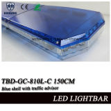 59 Inch Blue cubierta superior barra de luces de advertencia con LEDs SMD y la función de Asesor de Tráfico (TBD-GC-810L-E 150 cm)