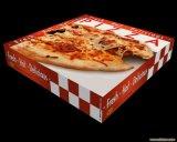 Caixas coloridas de Cardbaord Pizza Hut do papel ondulado da impressão da alta qualidade