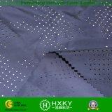 Tela perforada teñida llano del poliester para la chaqueta o la guarnición