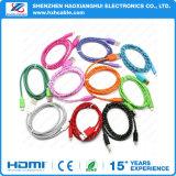 Prezzo di fabbrica per il cavo Braided del USB del caricatore del tessuto di iPhone 6