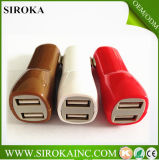 iPhone를 위한 세륨 Approval 5V 2A Dual USB Car Charger 5 4 4s 6 Cell Phone PDA MP3 MP4 Player