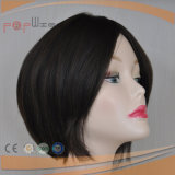 Peluca europea del pelo de la calidad de la mejor peluca llena popular del cordón