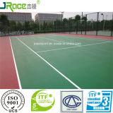 Materiale sintetico della corte per la corte di tennis esterna