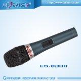 Профессиональным динамический микрофон связанный проволокой профессионалом Ealsem Es-8300 высокого качества