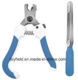 O ajustador do prego da preparação do animal de estimação Scissor a tosquiadeira de prego do cão