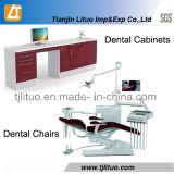 歯科クリニックの歯科実験室のキャビネット