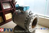 ASTM ha forgiato la valvola a sfera montata perno di articolazione d'acciaio