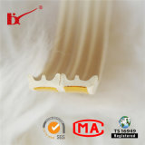 D / P / E Shape Auto-Adhesive Door Edge Gap Weather Resistance Seal Strip