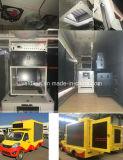 Mobiele LEIDENE van Forland vertoningsVrachtwagen met de Motor van de Benzine