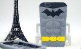 caixa macia do telefone do superman do silicone 3D com pacote de OPP (XSY-005)