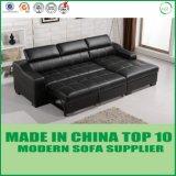 Base de couro funcional do sofá da fábrica do sofá de Foshan