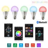 bulbo de Bluetooth da iluminação do diodo emissor de luz 100-240V para os vários lugares (SU-750)