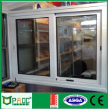 Schiebendes Aluminiumfenster mit Gitter-Entwurf