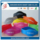 Wristband del silicón de la manera RFID