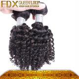 方法毛のアクセサリのマレーシアの束の取り引きの不足分の人間の毛髪