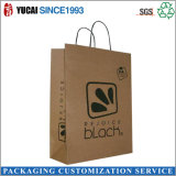 бумага 120g Brown Kraft с черной печатью логоса