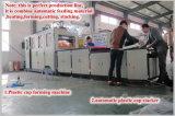Neues vollautomatisches Wegwerfplastikcup, das Maschine bildet