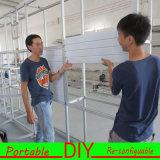カスタム携帯用モジュラー展示会展覧会の表示ブースの壁パネル