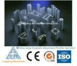 Профили штрангя-прессовани индустрии алюминиевые с по-разному формами