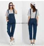 Pantaloni generali delle donne del denim di alta qualità dei jeans sottili dolci delle signore